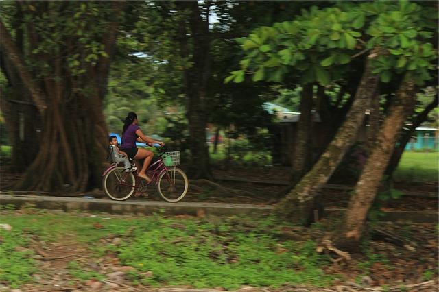 cyklovýlet s dítětem