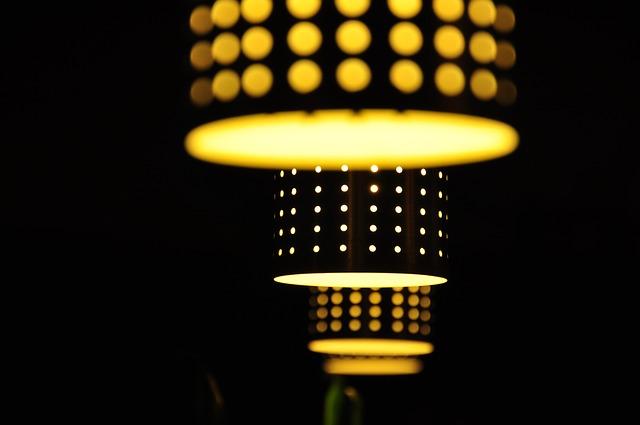 žhavé světlo