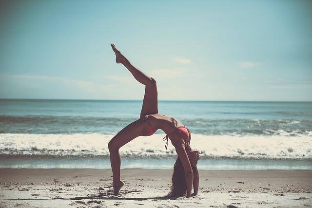 plážová jóga