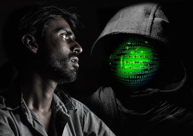 hacker a muž