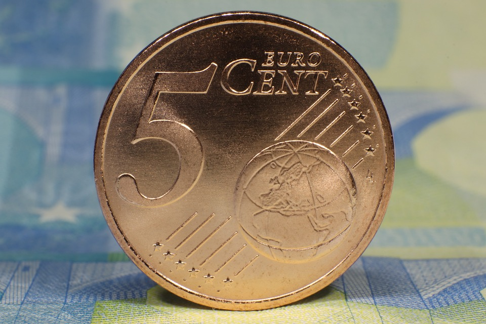pět centů